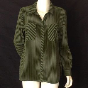 Studio Works Green /Black Buttons Down Shirts